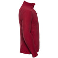Black - Front - Russell Europe Mens Full Zip Anti-Pill Microfleece Top