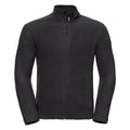 Classic Red - Front - Russell Europe Mens Full Zip Anti-Pill Microfleece Top