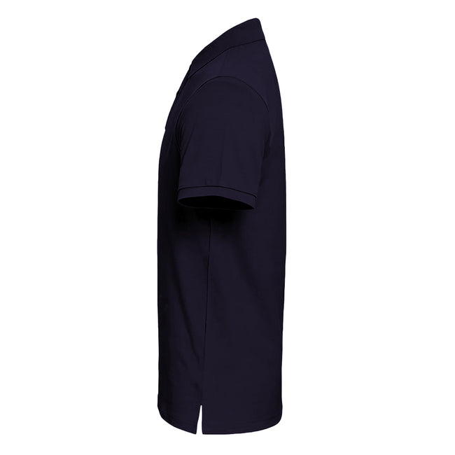Heather - Front - Asquith & Fox Mens Plain Short Sleeve Polo Shirt