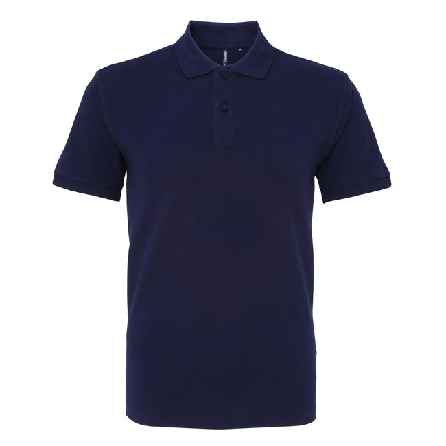 Mustard - Front - Asquith & Fox Mens Plain Short Sleeve Polo Shirt