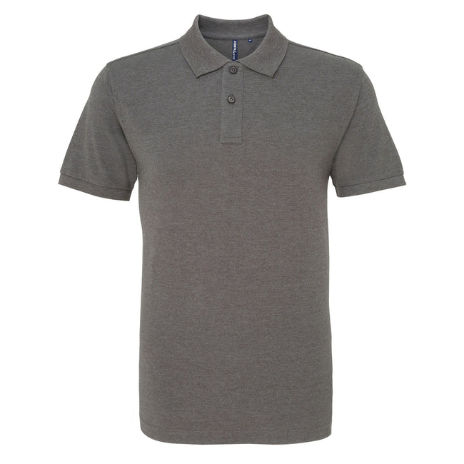 Burnt Orange - Back - Asquith & Fox Mens Plain Short Sleeve Polo Shirt