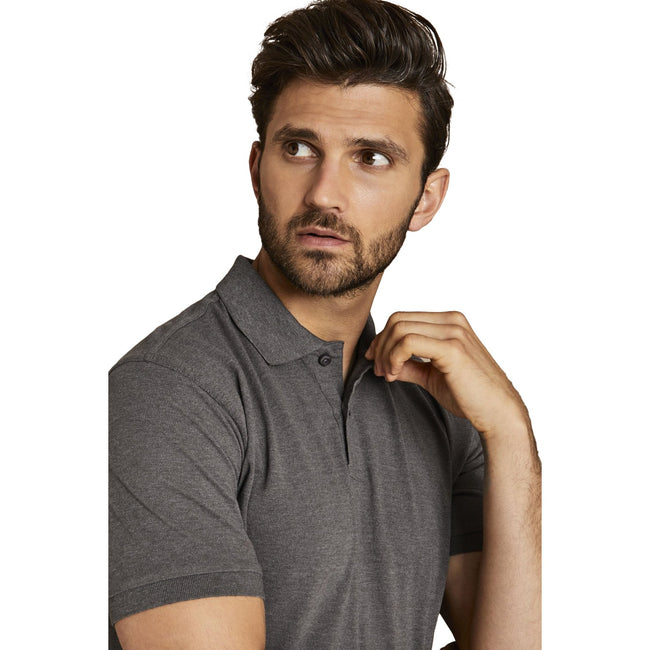 Lemon Zest - Back - Asquith & Fox Mens Plain Short Sleeve Polo Shirt