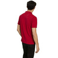 Milk Chocolate - Back - Asquith & Fox Mens Plain Short Sleeve Polo Shirt