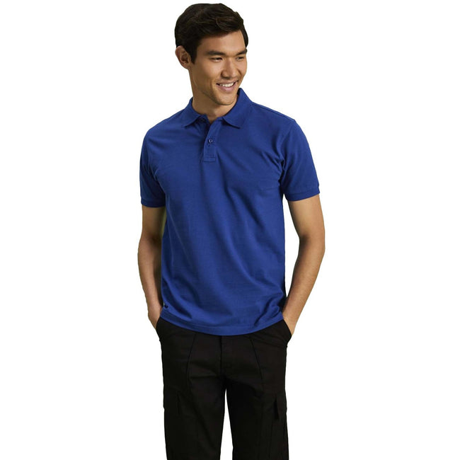 Natural - Front - Asquith & Fox Mens Plain Short Sleeve Polo Shirt