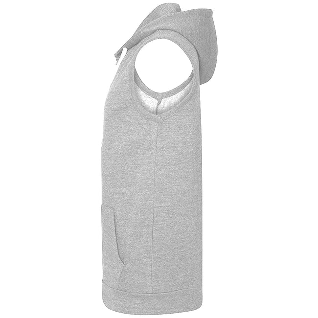 Oxford Navy - Front - AWDis Just Hoods Mens Sleeveless Hoodie Jacket