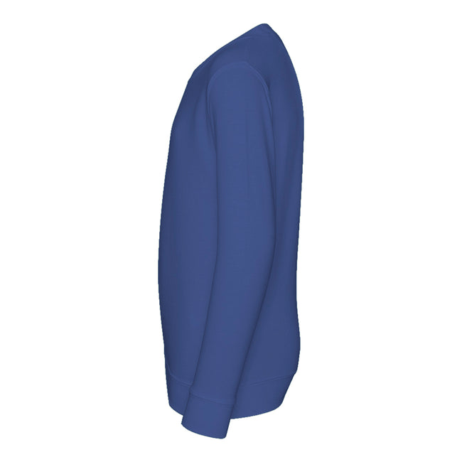 Lime Green - Front - AWDis Just Hoods Childrens-Kids Plain Crew Neck Sweatshirt
