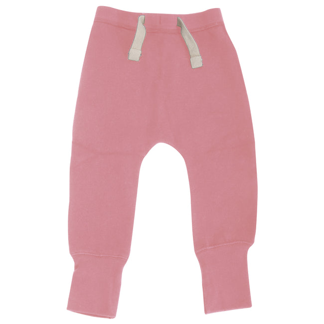 Bubblegum Pink - Front - Babybugz Baby Unisex Plain Sweatpants - Jogging Bottoms