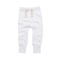 White - Front - Babybugz Baby Unisex Plain Sweatpants - Jogging Bottoms