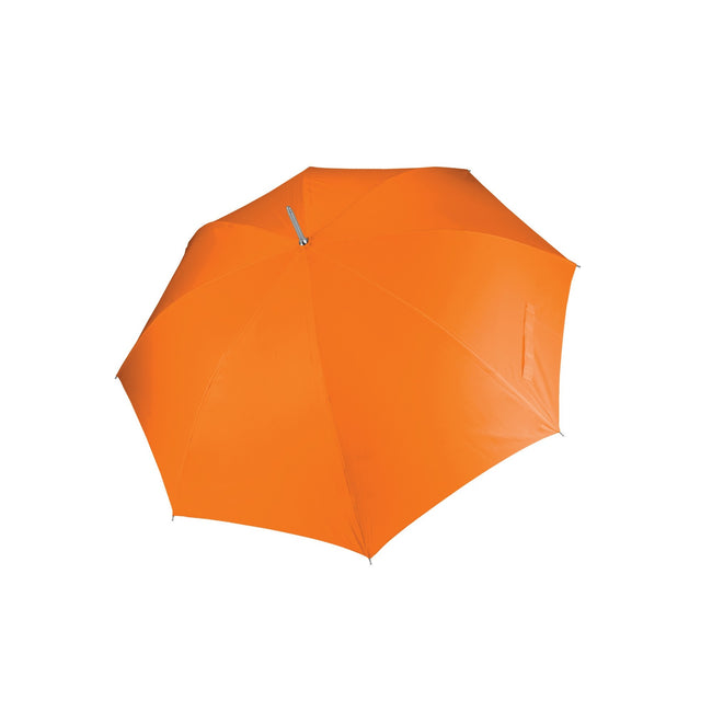 Orange - Front - Kimood Unisex Auto Opening Golf Umbrella