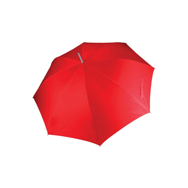 Red - Front - Kimood Unisex Auto Opening Golf Umbrella