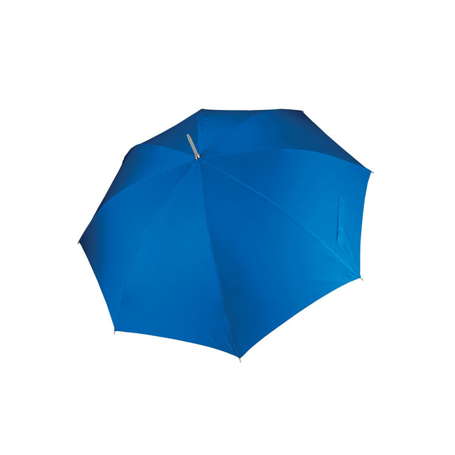 Royal Blue - Front - Kimood Unisex Auto Opening Golf Umbrella