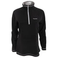 Black - Side - Craghoppers Womens-Ladies Seline Half Zip Micro Fleece Top