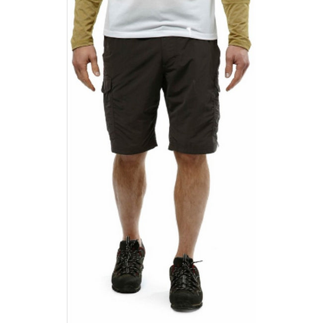 Black Pepper - Back - Craghoppers Mens Nosilife Insect Repellent Cargo Shorts
