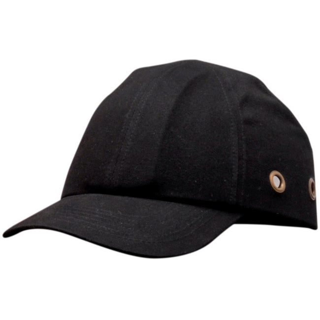 Black - Front - Portwest Safety Bump Baseball Cap