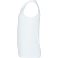 Arctic White - Back - AWDis Just Cool Childrens-Kids Plain Sleeveless Vest Top