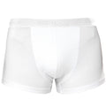 Kelly - Front - Asquith & Fox Mens Shorty Boxer Briefs-Underwear (Pack Of 2)