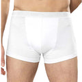 Heather - Front - Asquith & Fox Mens Shorty Boxer Briefs-Underwear (Pack Of 2)