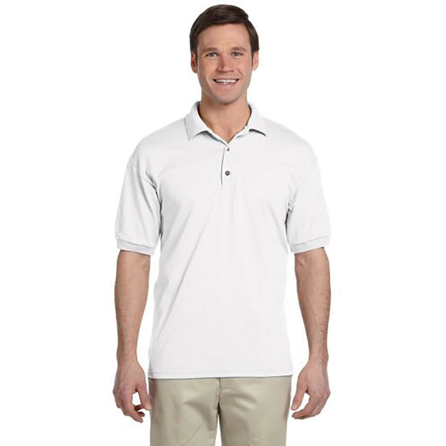 Fire Red - Front - Tri Dri Mens Panelled Short Sleeve Polo Shirt