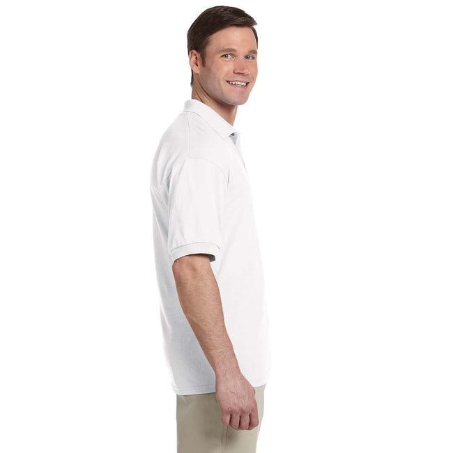 Sapphire - Front - Tri Dri Mens Panelled Short Sleeve Polo Shirt