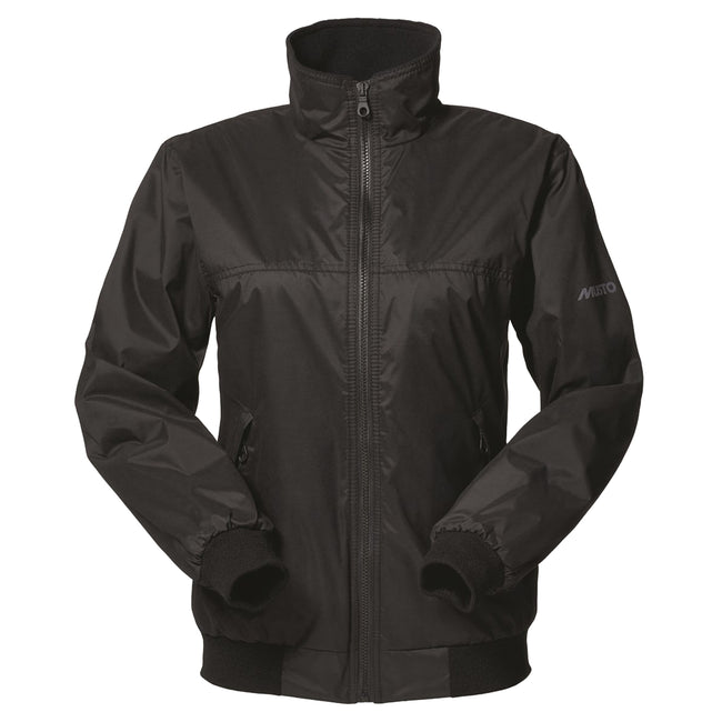 Black- Black - Front - Musto Womens-Ladies Snug Blouson Jacket