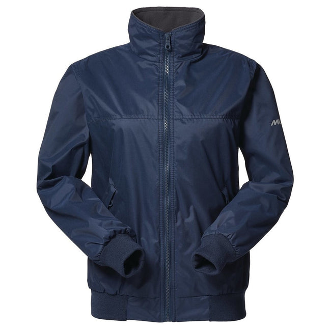True Navy- Cinder - Front - Musto Womens-Ladies Snug Blouson Jacket