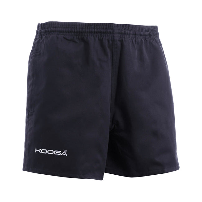 Navy - Front - KooGa Childrens-Boys Murrayfield Rugby Shorts