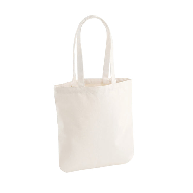 Natural - Front - Westford Mill EarthAware Organic Cotton Spring Tote Bag