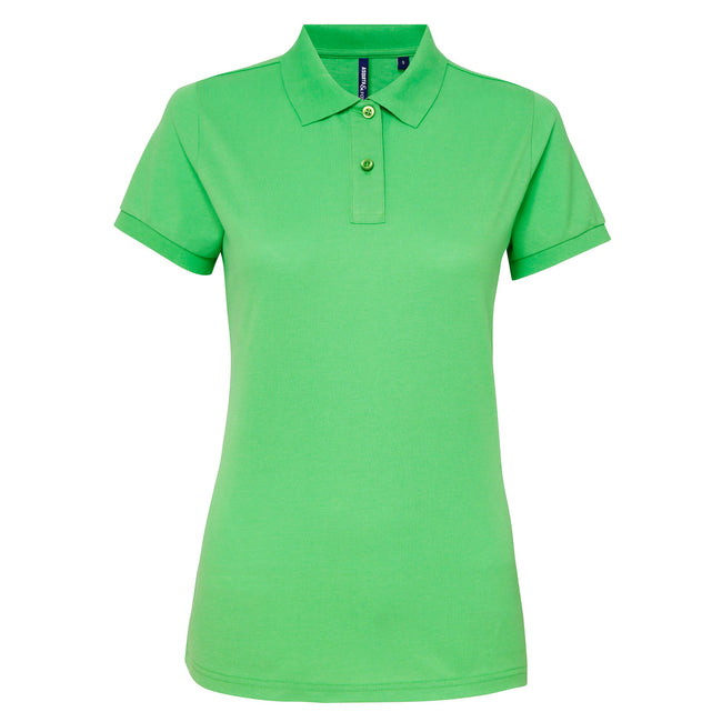 Bottle - Front - Asquith & Fox Womens-Ladies Short Sleeve Performance Blend Polo Shirt