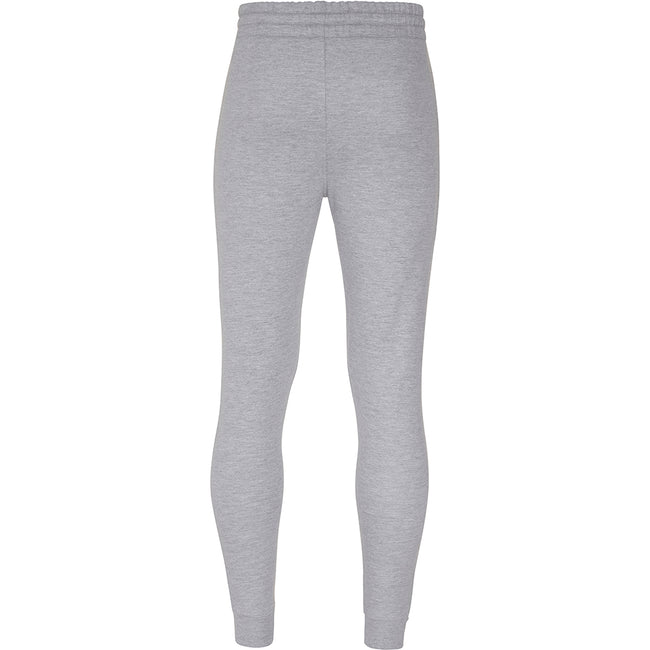 Heather Grey - Side - AWDis Hoods Mens Tapered Track Pants