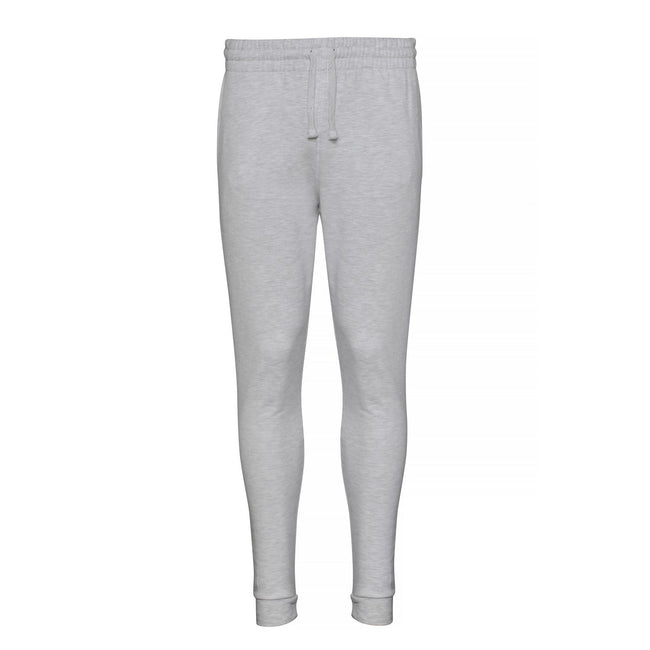 Ash - Front - AWDis Hoods Mens Tapered Track Pants