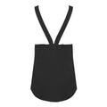 White - Front - Skinni Fit Womens-Ladies Fashion Workout Sleeveless Vest