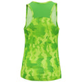 Camo Orange - Side - Tri Dri Womens-Ladies Hexoflage Performance Sleeveless Vest