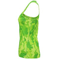 Camo Orange - Lifestyle - Tri Dri Womens-Ladies Hexoflage Performance Sleeveless Vest