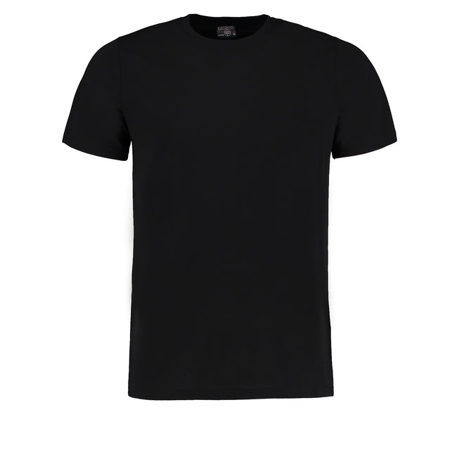 Black Melange - Front - Kustom Kit Unisex Superwash 60 Degree Tshirt