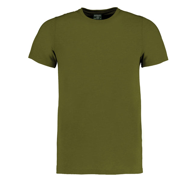 Khaki - Front - Kustom Kit Unisex Superwash 60 Degree Tshirt