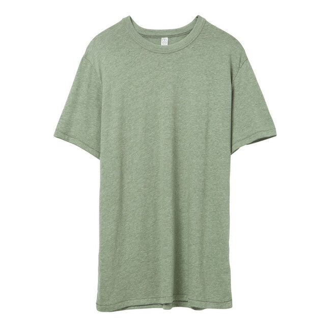 Vintage Pine - Front - Alternative Apparel Mens Vintage 50-50 T-shirt