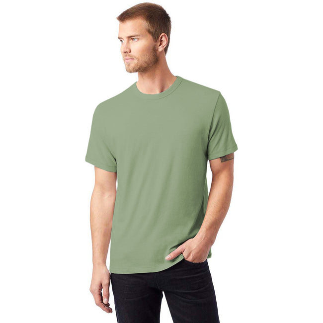 Vintage Pine - Back - Alternative Apparel Mens Vintage 50-50 T-shirt