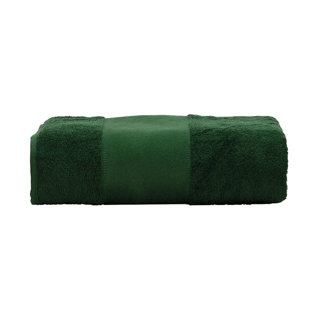 Lime Green - Front - A&R Towels Print-Me Big Towel
