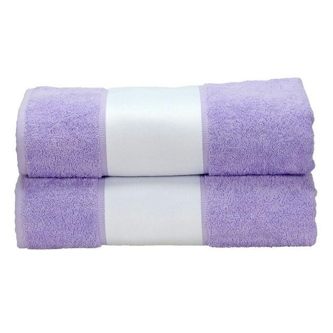 Light Purple - Front - A&R Towels Subli-Me Bath Towel