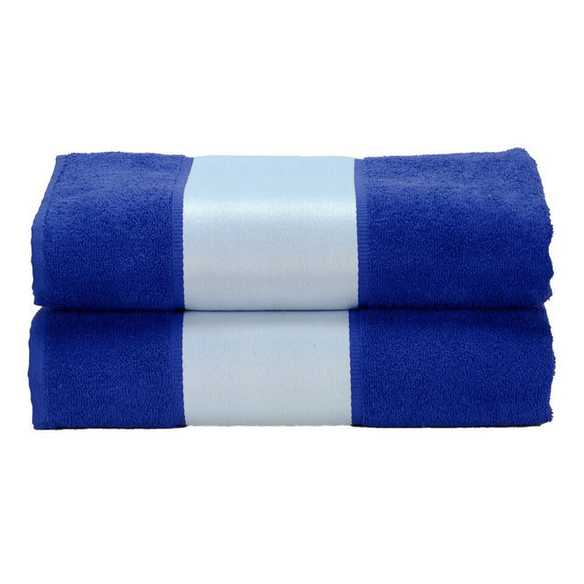 True Blue - Front - A&R Towels Subli-Me Bath Towel