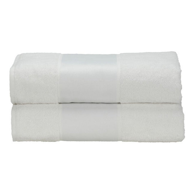 White - Front - A&R Towels Subli-Me Bath Towel