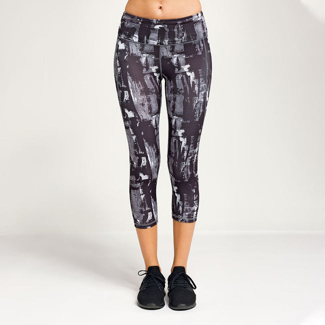 Charcoal - Lifestyle - TriDri Womens Performance Sunset 3-4 Length Leggings