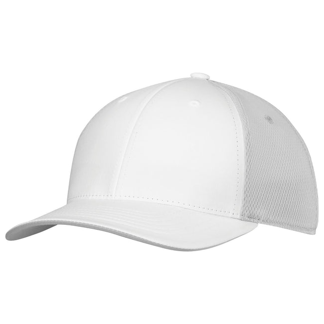 White - Front - Adidas Unisex Adults ClimaCool Tour Crestable Cap