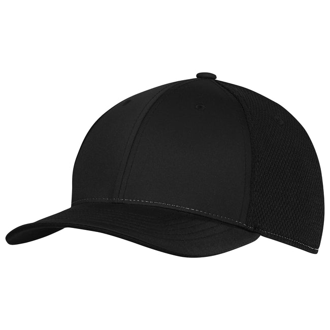Black - Front - Adidas Unisex Adults ClimaCool Tour Crestable Cap