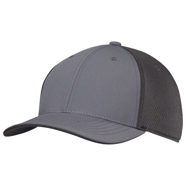 Grey Four - Front - Adidas Unisex Adults ClimaCool Tour Crestable Cap