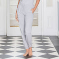Heather Grey - Side - Comfy Co Womens-Ladies Sleepy Pants