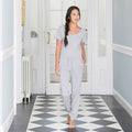 Heather Grey - Lifestyle - Comfy Co Womens-Ladies Sleepy Pants