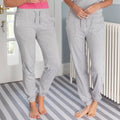 Heather Grey - Pack Shot - Comfy Co Womens-Ladies Sleepy Pants