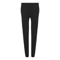 Black - Front - Comfy Co Womens-Ladies Sleepy Pants
