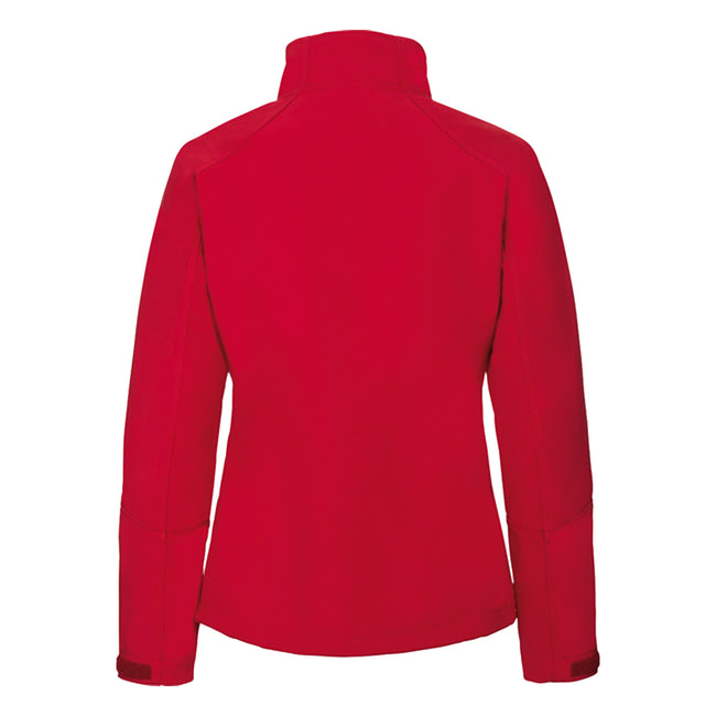 Stone - Front - Russell Women-Ladies Bionic Softshell Jacket